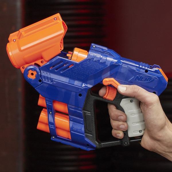 Nerf Nerf N-Strike Elite Shellstrike DS-6, Nerf Gun blau ...