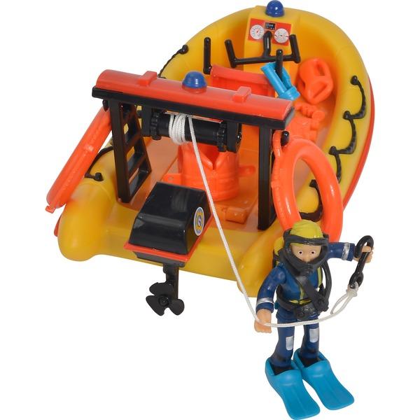 simba feuerwehrmann sam neptune boot spielfahrzeug mit figur
