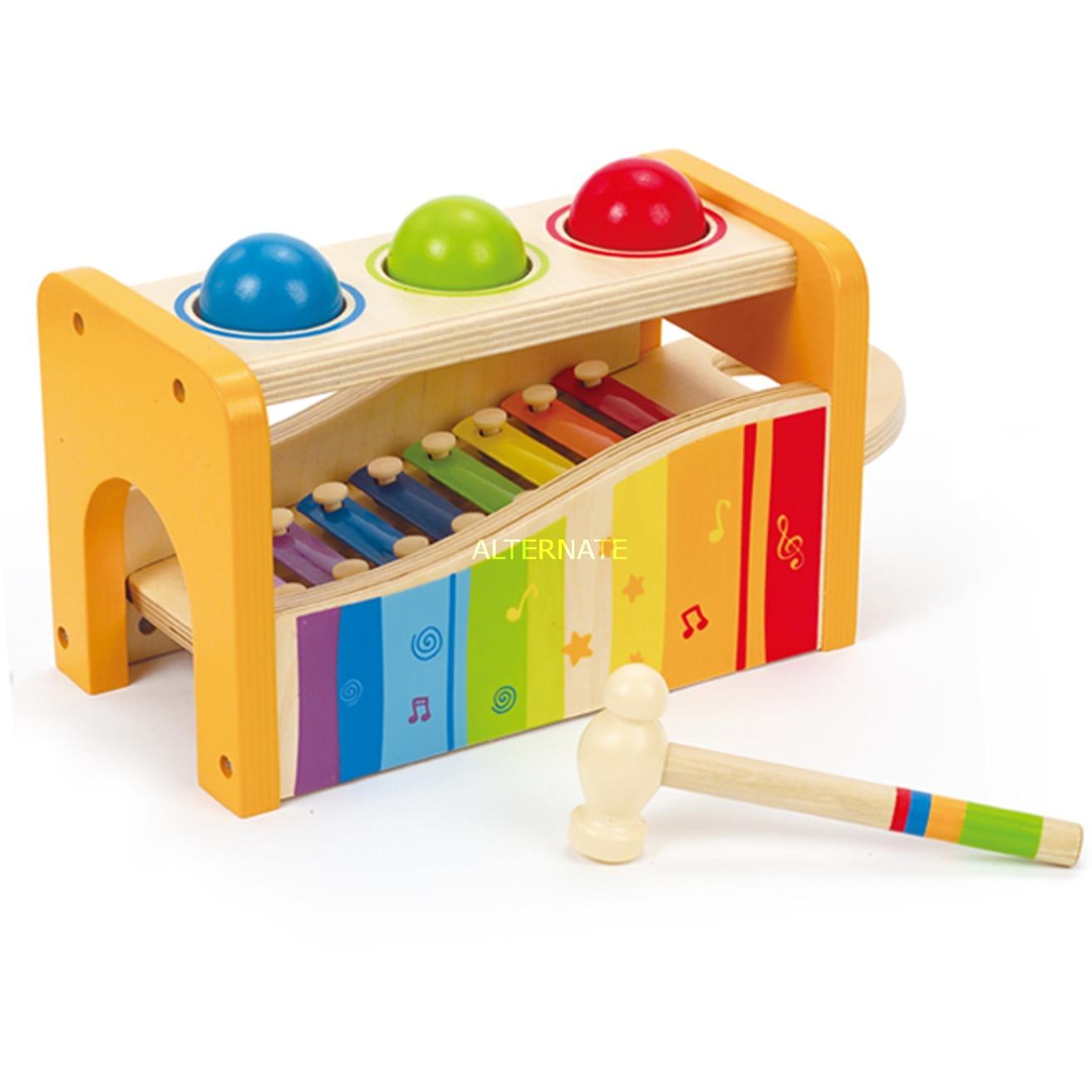 Xylophon und Hammerspiel 6 teilig aus Holz
