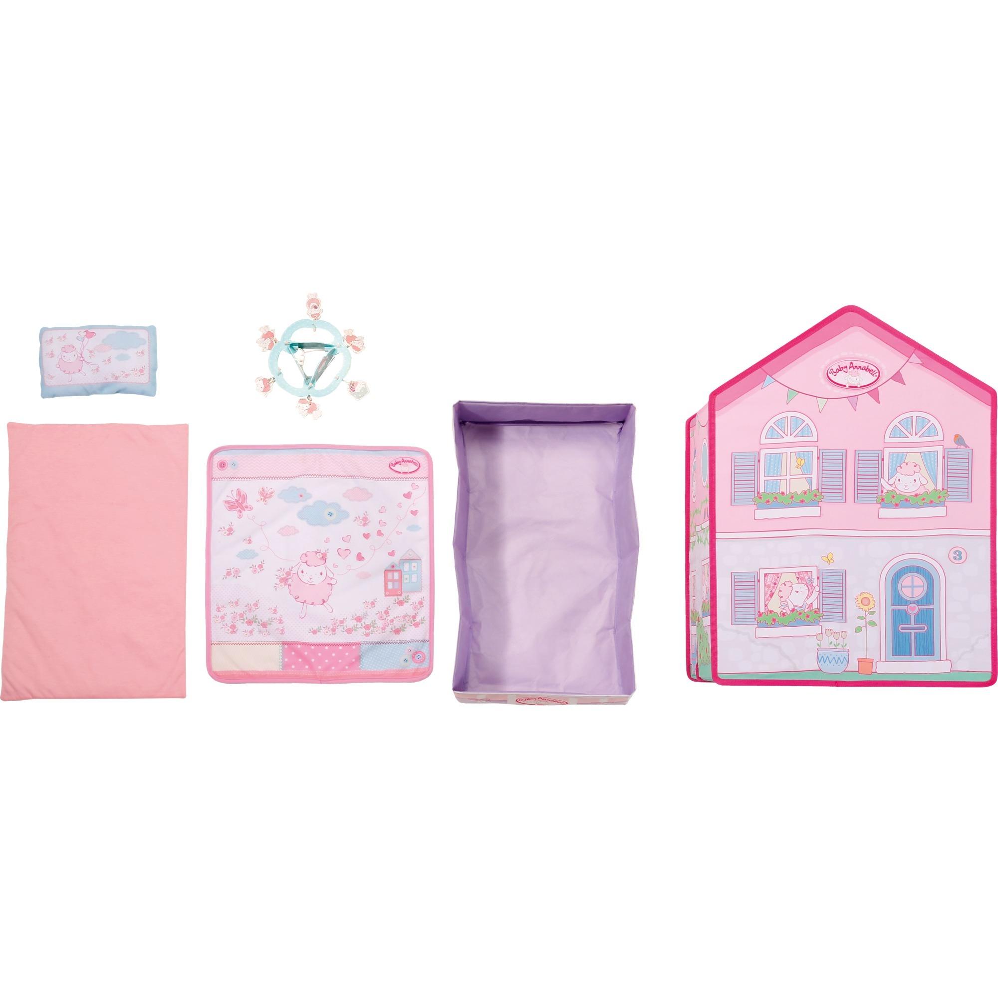 Zapf creation zapf 4001167794425 schlafzimmer mehrfarbig for Baby annabell schlafzimmer