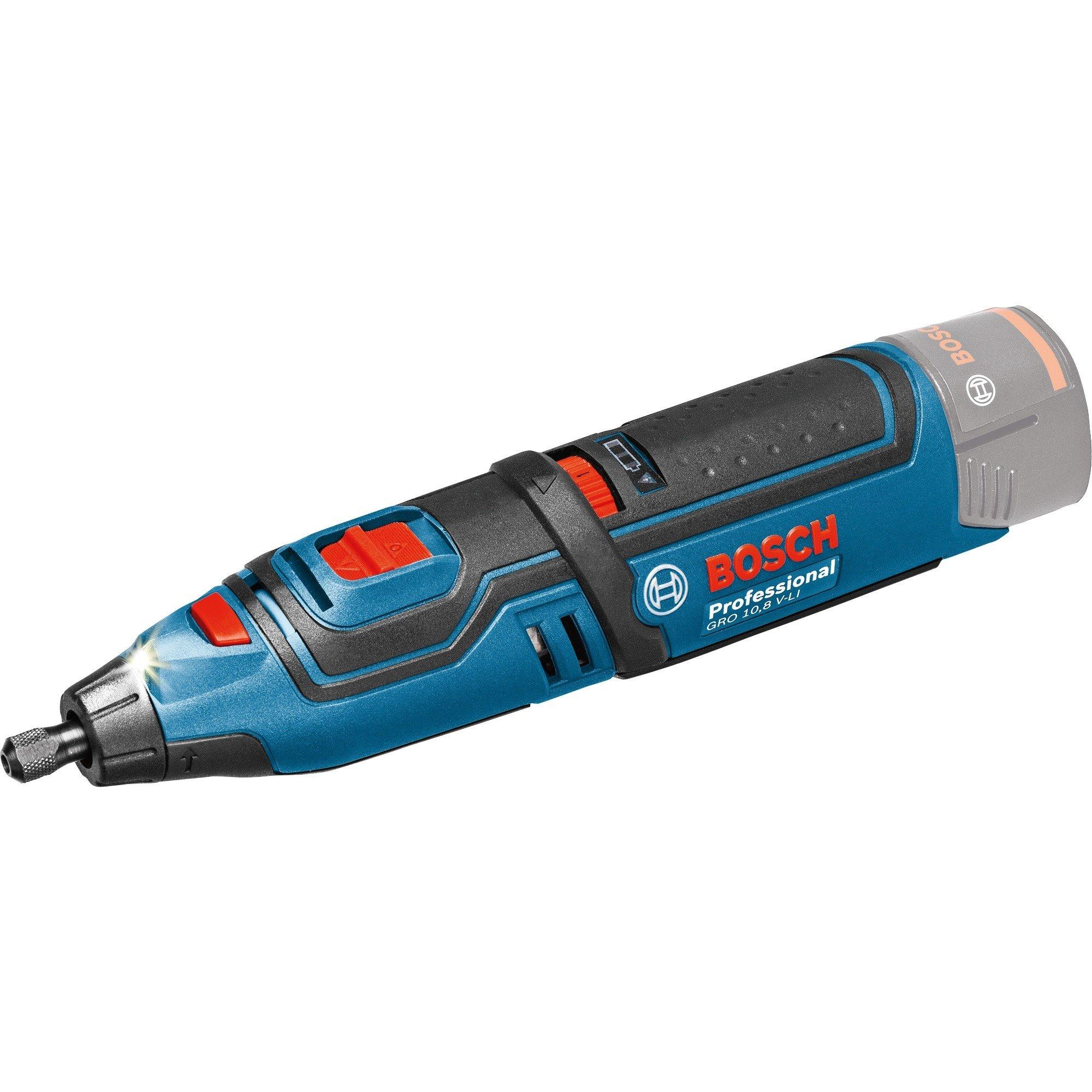 Akku Rotationswerkzeug GRO 12V 35 solo Professional, 12 Volt, Multifunktions Werkzeug (blauschwarz, ohne Akku und Ladegerät)