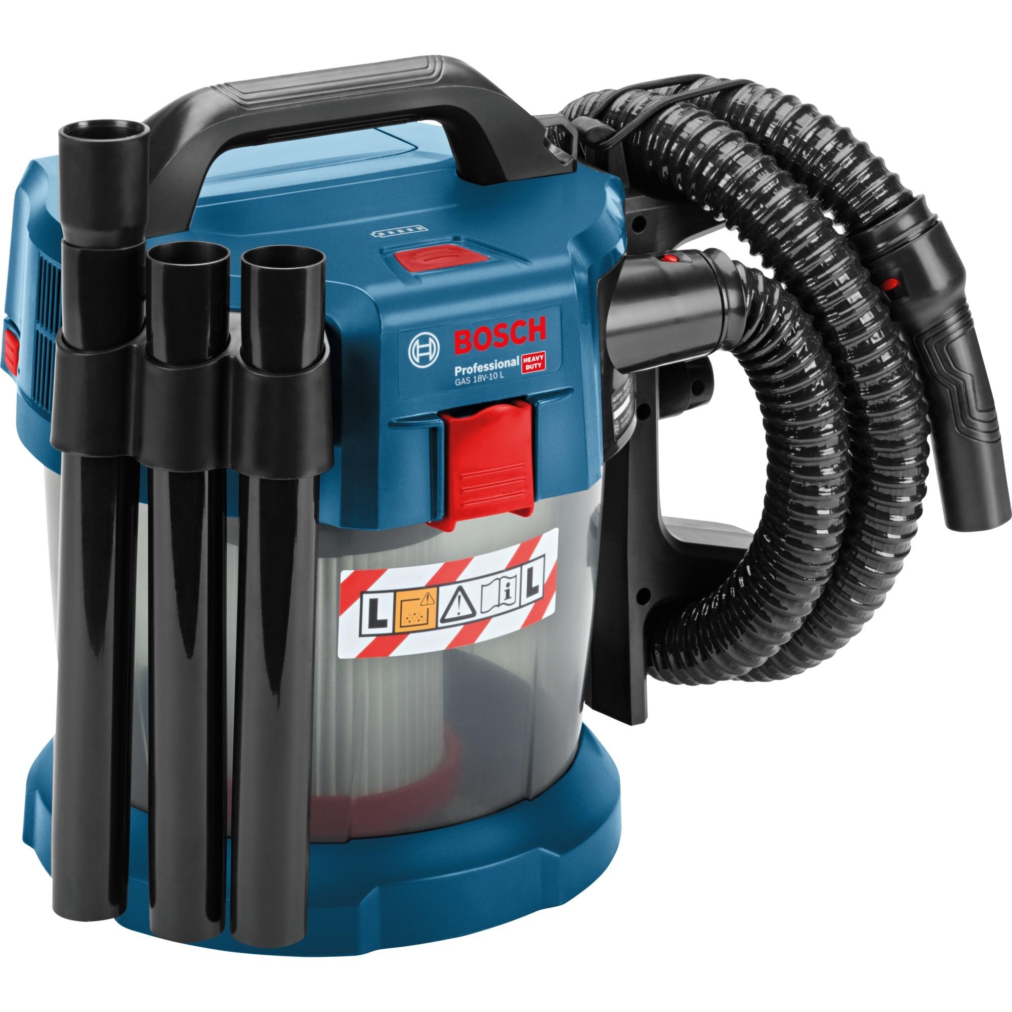 Allzwecksauger GAS 18V 10 L Professional, Nass Trockensauger (blau, ohne Akku und Ladegerät)