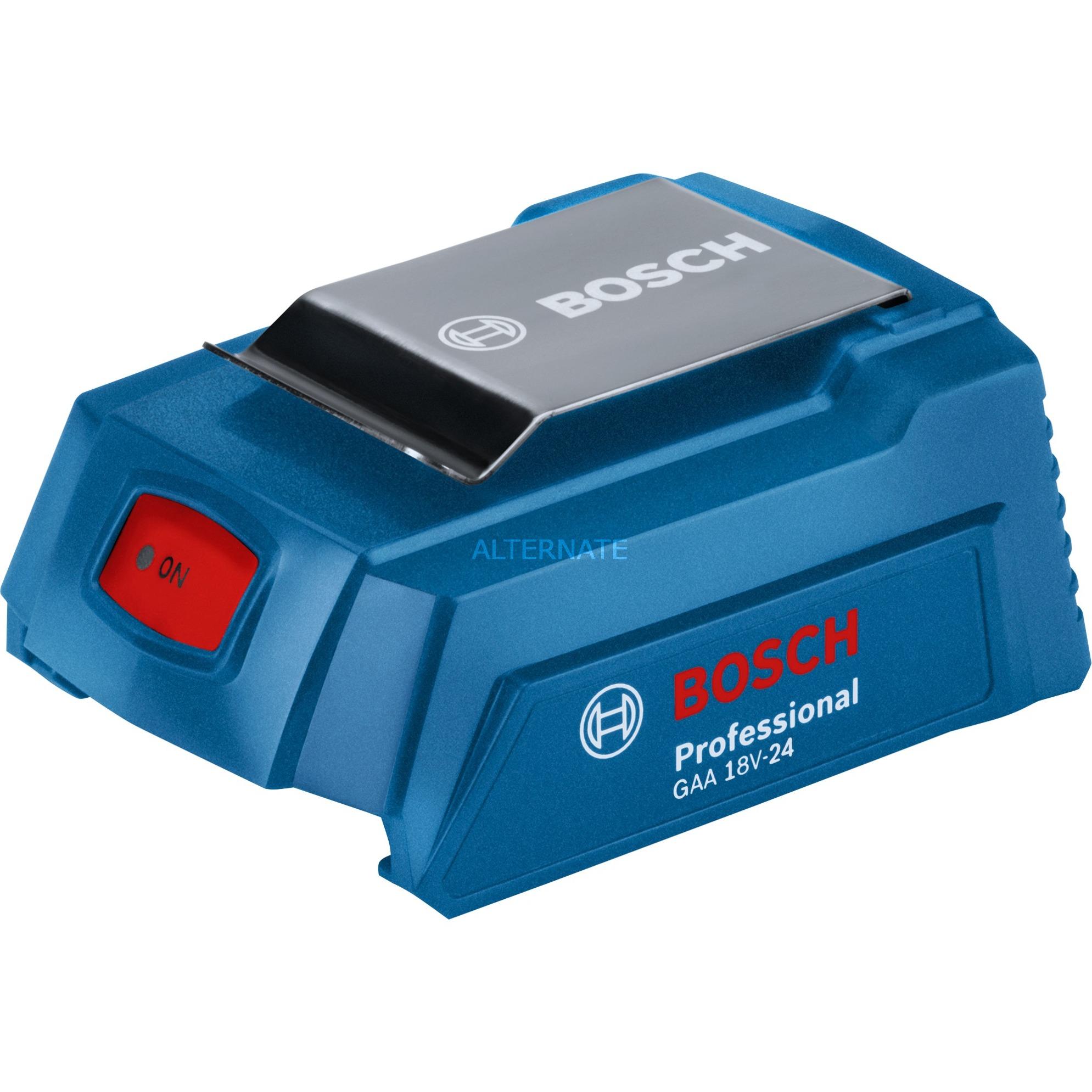 BOSCH LADEGERÄT GAA 18 V 24 Professional Systemzubehör USB