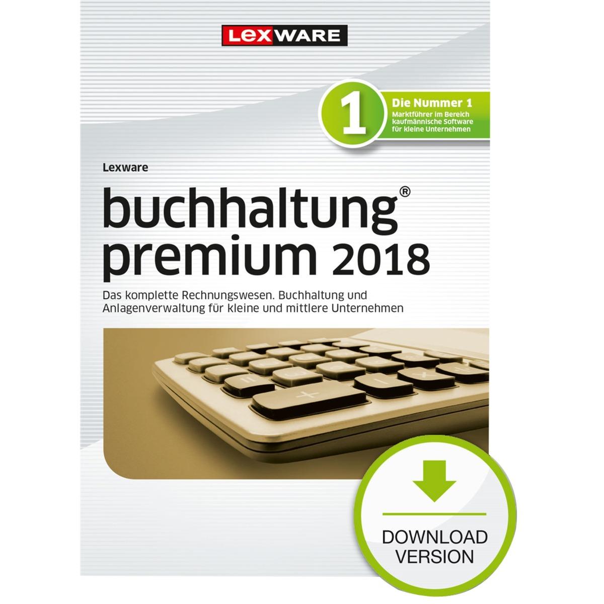 Buchhaltung Premium 2018, Finanz-Software
